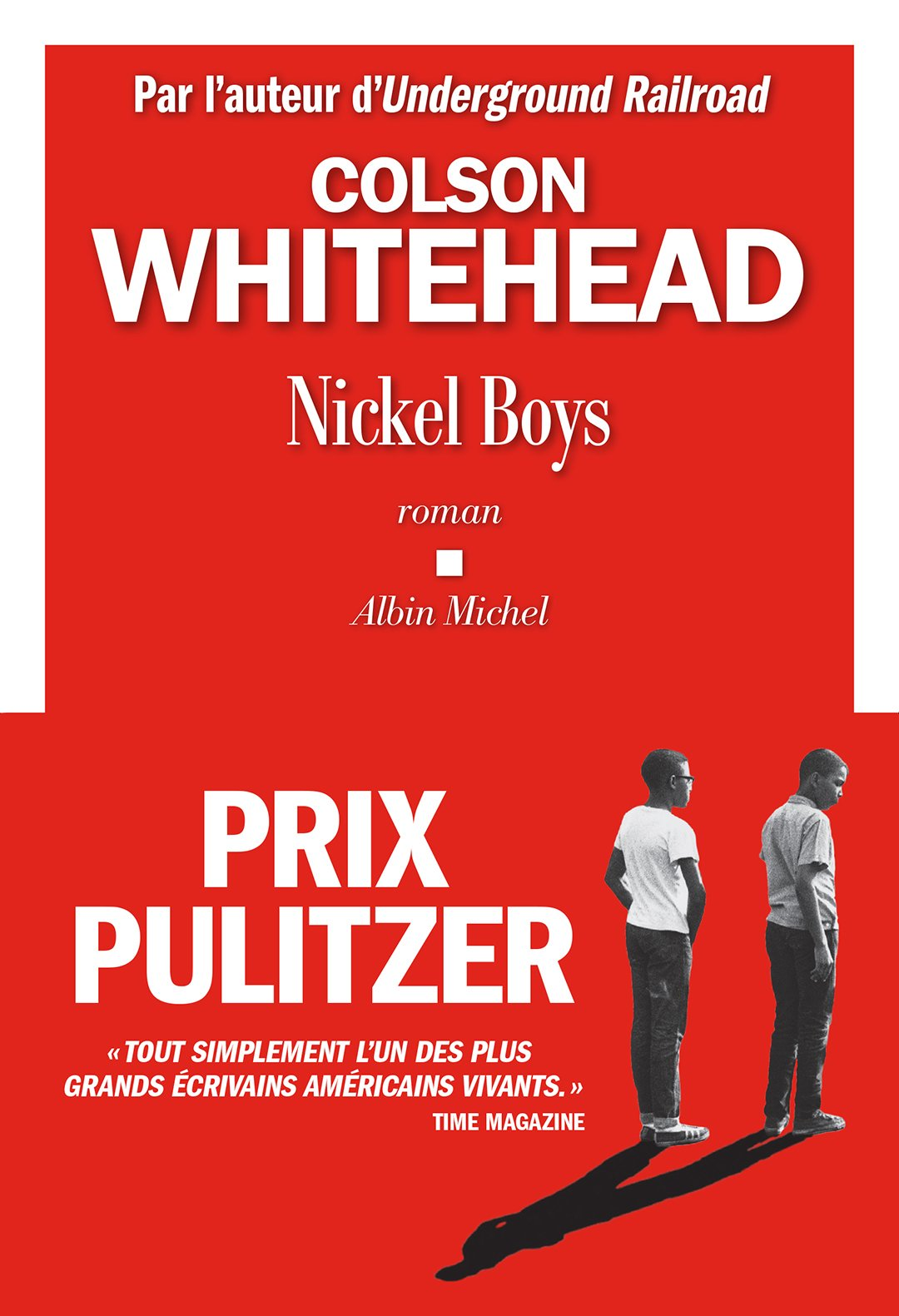 """""""Nickel Boys"""", by Colson Whitehead, was translated into French by Charles Recoursé. It was published by Albin Michel editions and costs 19,90 euros for 272 pages."""
