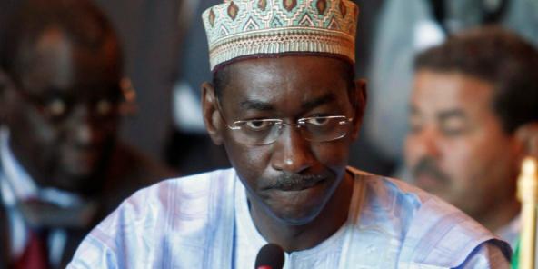 Le Premier ministre de la transition au Mali, Moctar Ouane, en mars 2016 à Alger.