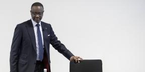 Tidjane Thiam, au Credit Suisse, à Zurich, le 13 février 2020.