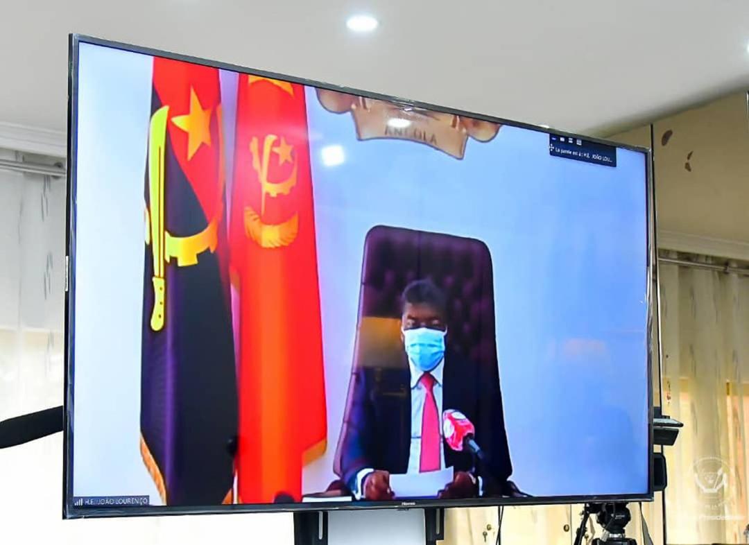 João Lourenço, le président de l'Angola.