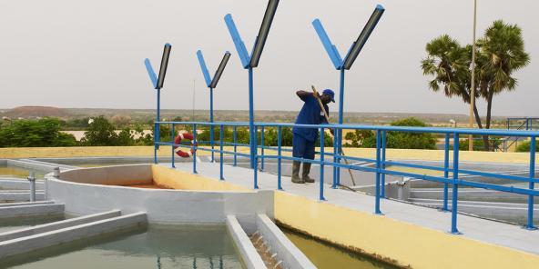 देखा, नाइजर में पीने के पानी के लिए जिम्मेदार एक Veolia सहायक कंपनी है।
