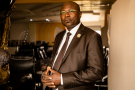 Eddie Komboïgo, candidat à la présidentielle au Burkina sous les couleurs du CDP de Blaise Compaoré.