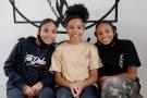 Les jumelles Norah et Yarah (14 ans) et leur cadette Rosa (12 ans), le trio de Let It Happen.