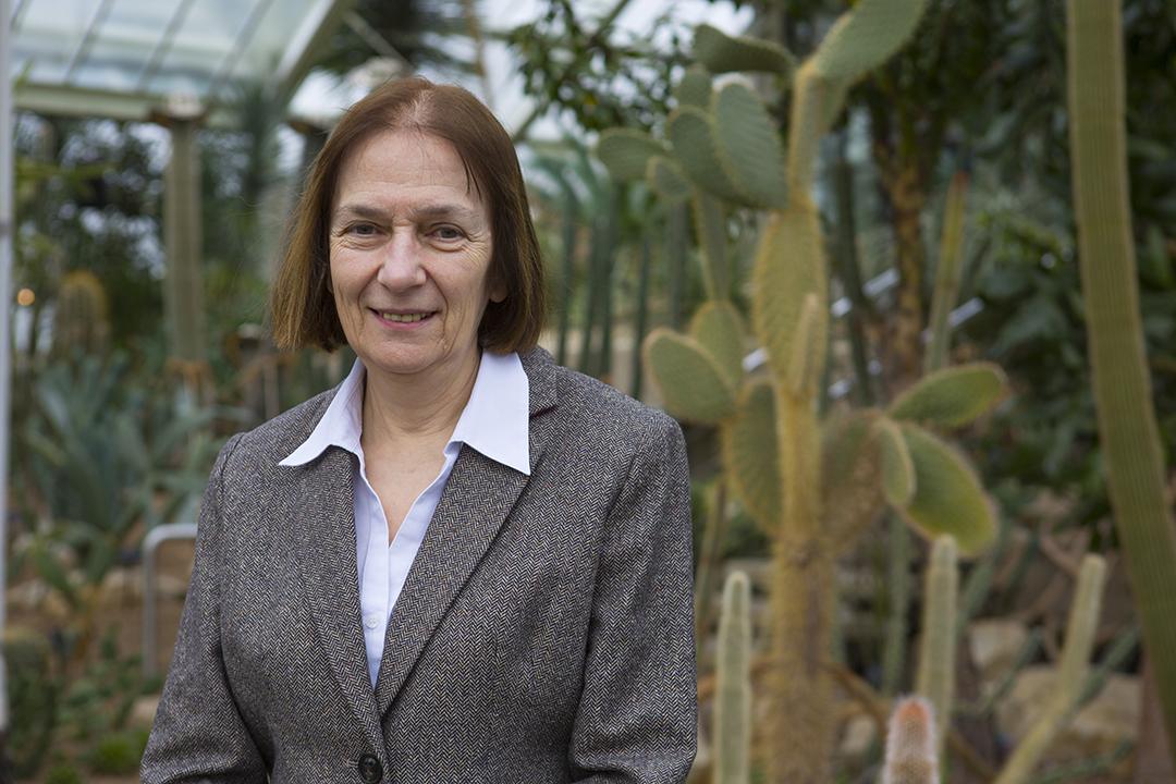 Le professeur Monique Simmonds, des Kew Gardens de Londres, en 2019