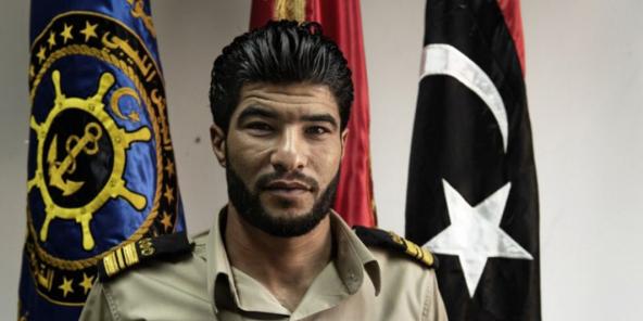 Accusé de trafic d'êtres humains et de contrebande de carburant, Abd al-Rahman al-Milad, dit «El-Bidja», était le chef des gardes-côtes de Zawiya.