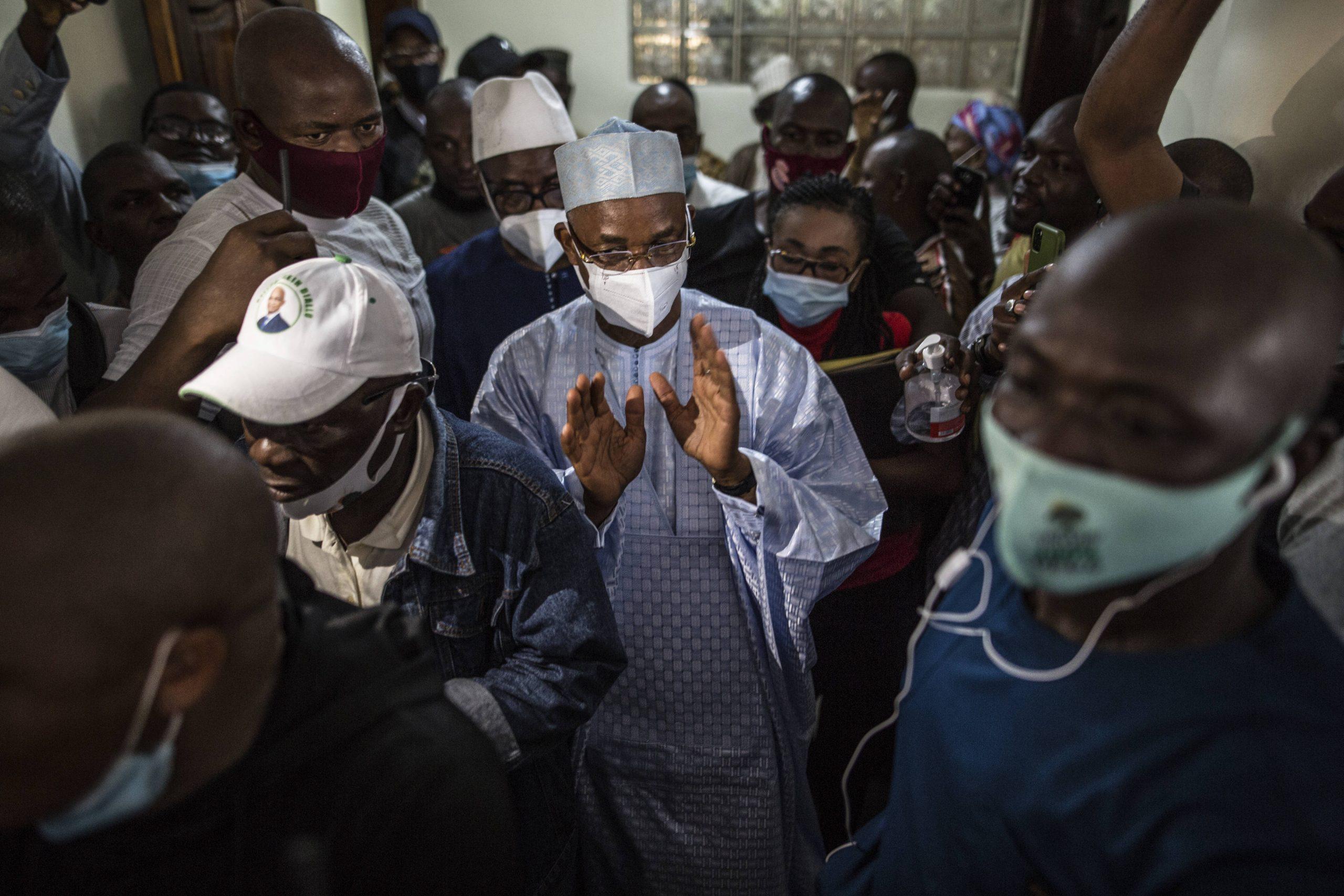 Cellou Dalein Diallo a revendiqué la victoire le 19 octobre, avant la publication des résultats officiels de la présidentielle.