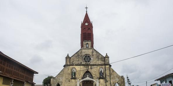 Une église de Libreville, au Gabon.