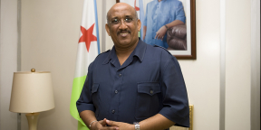 Dileita Mohamed Dileita, l'ancien Premier ministre de Djibouti