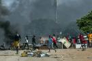 A Conakry, des violences ont éclaté entre les partisans de l'opposant Cellou Dalein Diallo et la police, le 21 octobre 2020.