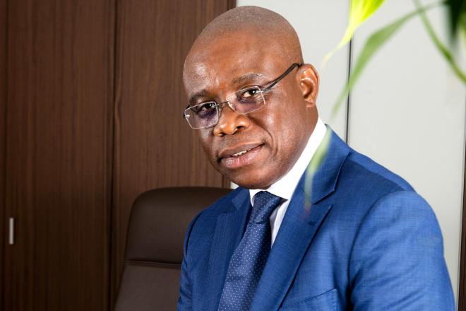 José Tonato, ministre du Cadre de vie et du Développement durable au Bénin, en 2020.