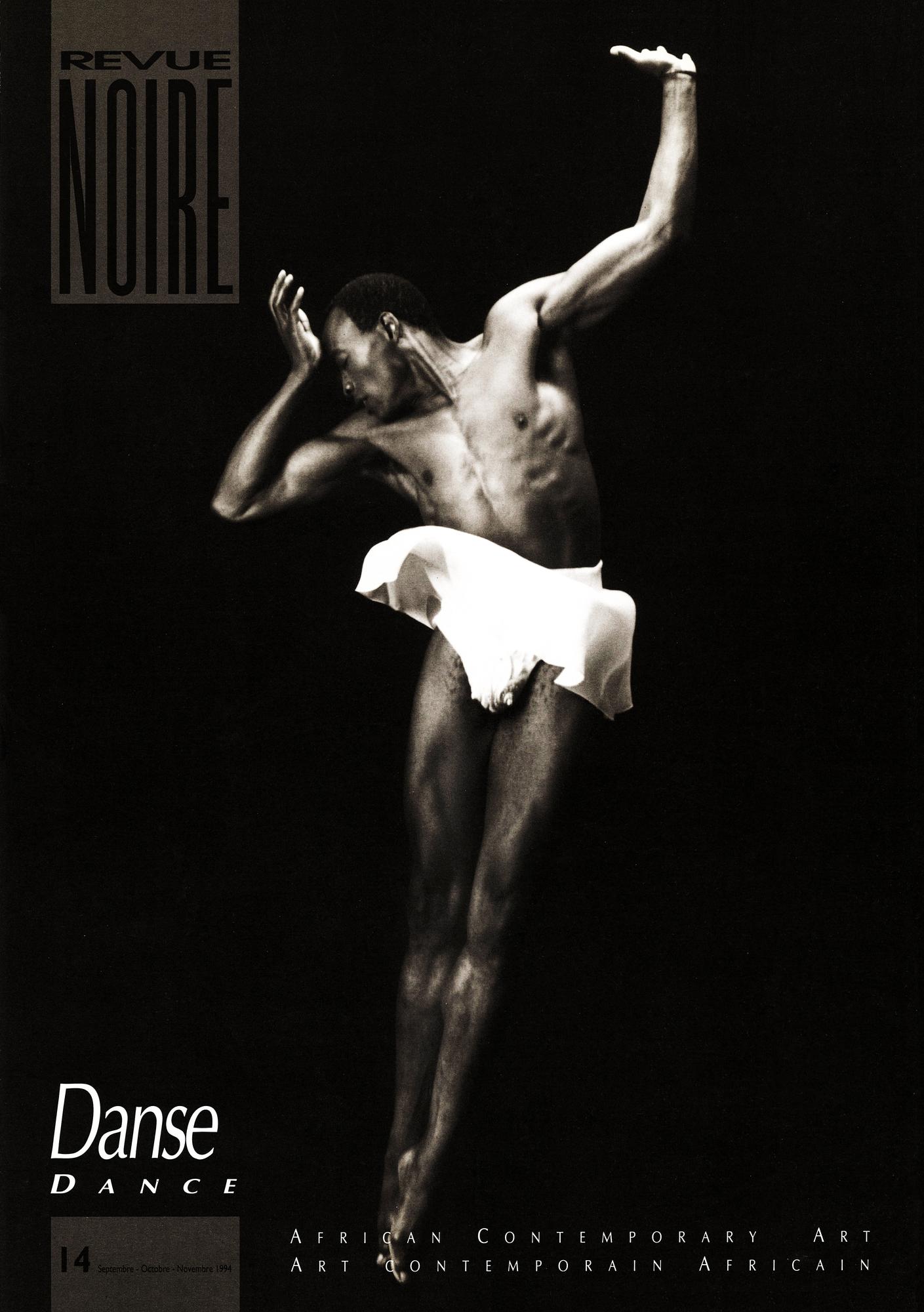 Revue Noire n°14, spécial danse, sous la direction de Jean Loup Pivin, publié en septembre 1994