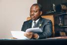 L'ex-président de l'Assemblée nationale, Guillaume Soro, à Abidjan, en novembre 2018