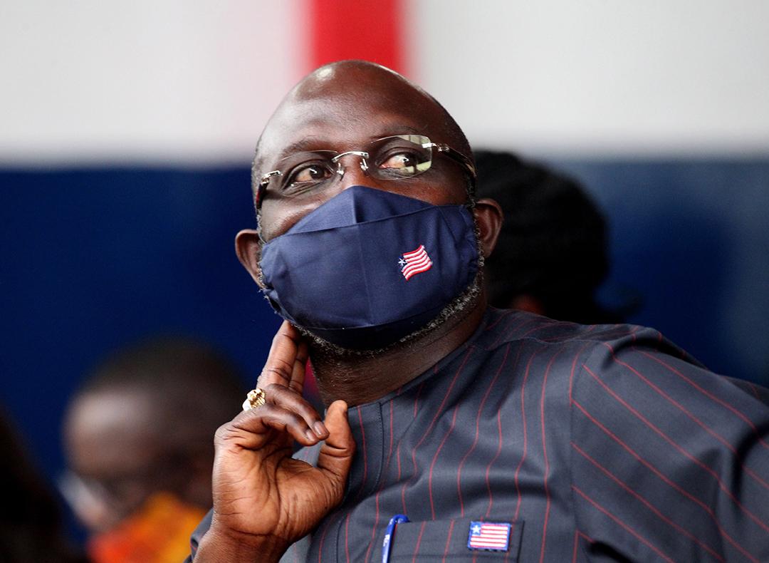 Le 26 décembre 2017, la star du football a été élue président du Liberia.