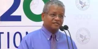 Wavel Ramkalawan, le 25 octobre 2020.