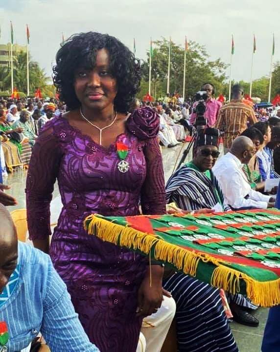 Mahamadou Bonkoungou a promu sa fille Alizèta au poste de directrice adjointe de son groupe, Ebomaf.