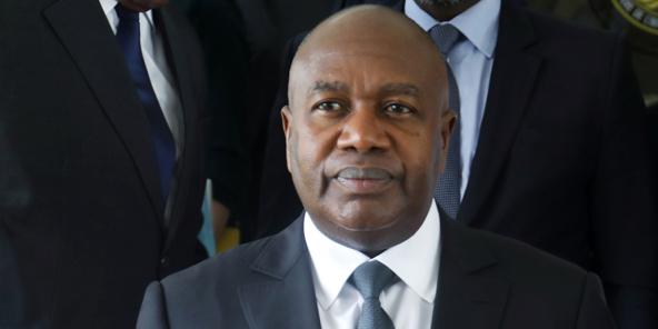 Sidiki Diakité, ici en mai 2019 à Abidjan, est décédé le 23 octobre.