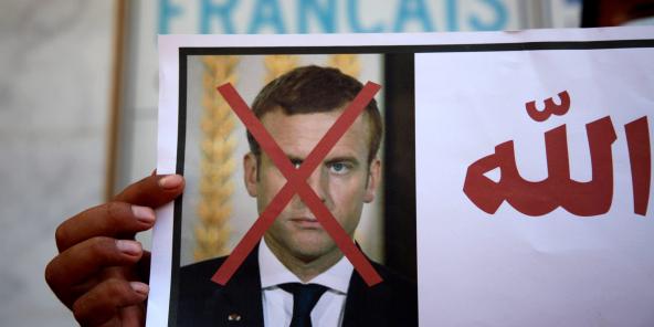 Les appels au boycott des produits français se sont multipliés à la suite du discours d'Emmanuel Macron du 21 octobre 2020.