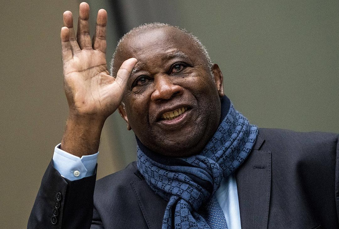 L'ancien président ivoirien Laurent Gbagbo, en février 2020.