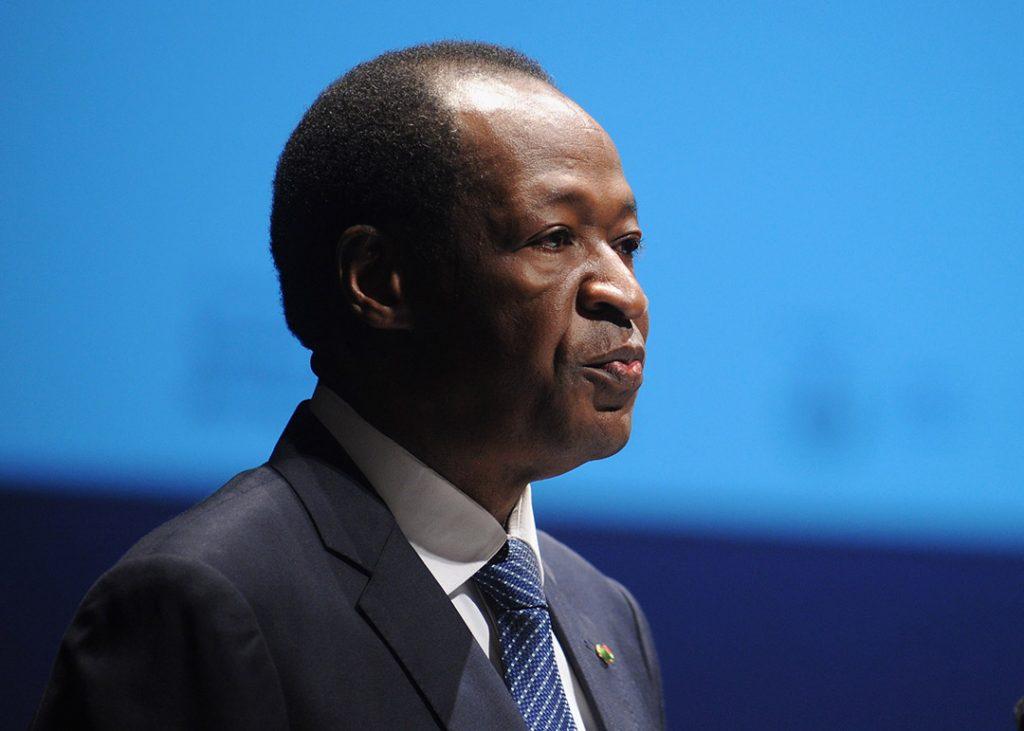 L'ancien président burkinabè, en octobre 2012, à Milan.