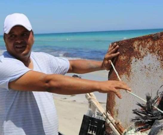 Nader Ezzabi, le président de l'association libyenne de protection environnementale Beseda.