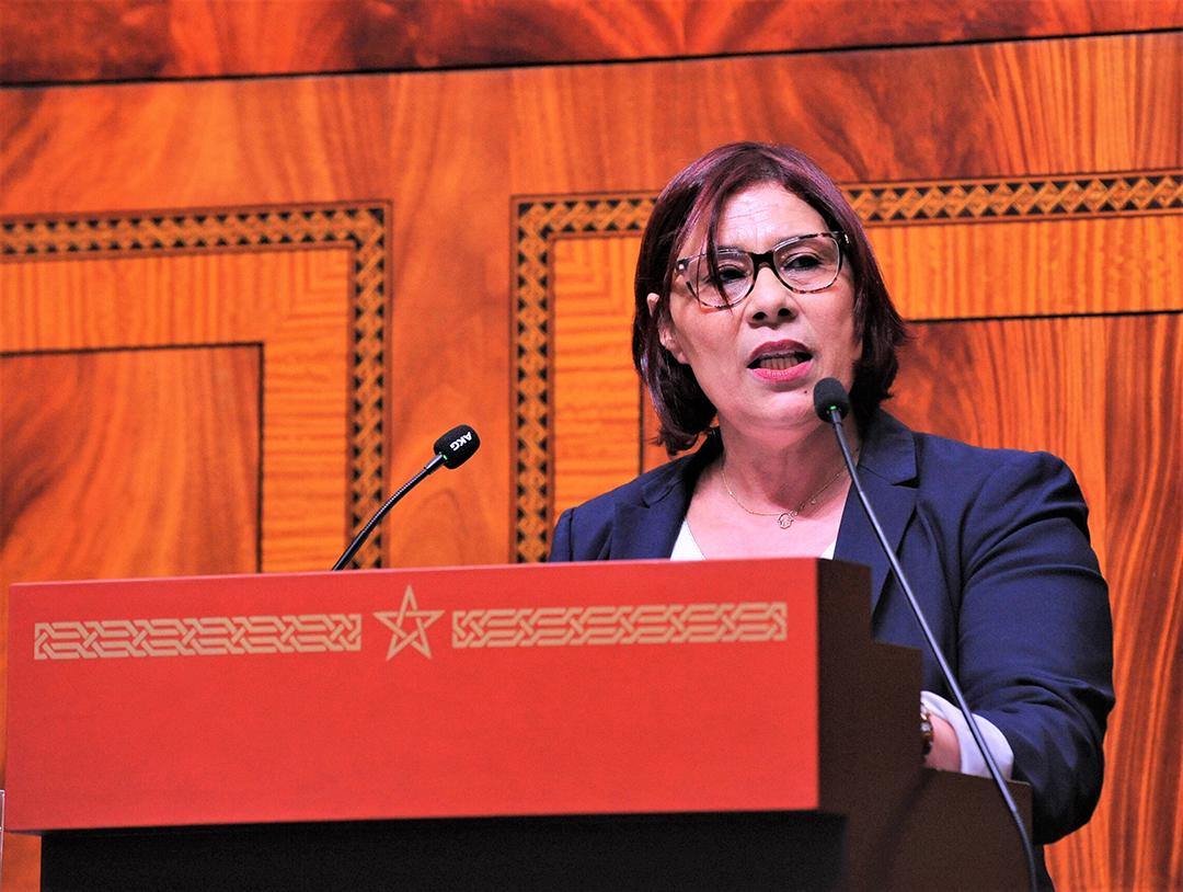 La députée marocaine Aïcha Lablack