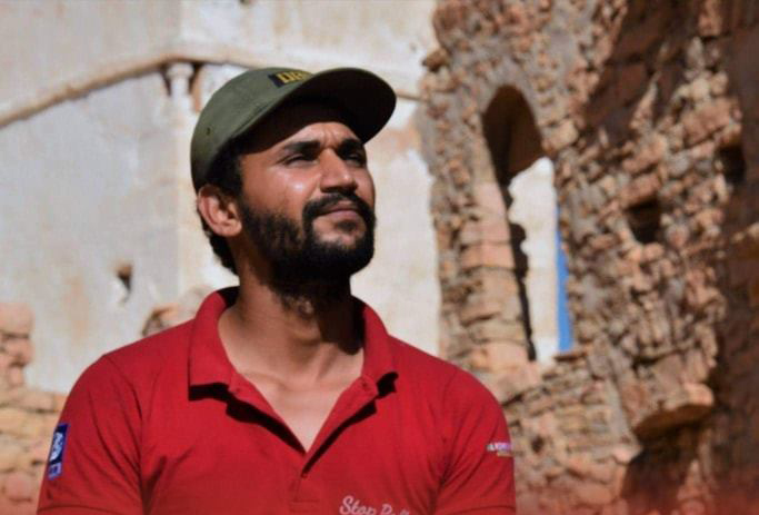 L'activiste tunisien Khayreddine Debaya.
