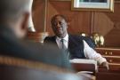 Alassane Ouattara à Abidjan, en mars 2020.