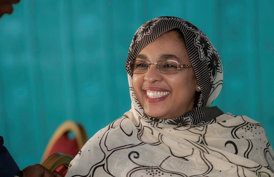 La Mauritanienne Maimouna Mint Saleck.