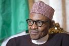 Le président nigéria, Muhammadu Buhari, à Londres, le 5 février 2016.