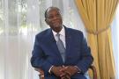 Alassane Ouattara, à Abidjan, en octobre 2020.