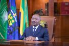 Le chef de l'État Ali Bongo Ondimba