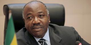 Ali Bongo Ondimba à Addis-Abeba, en janvier 2018