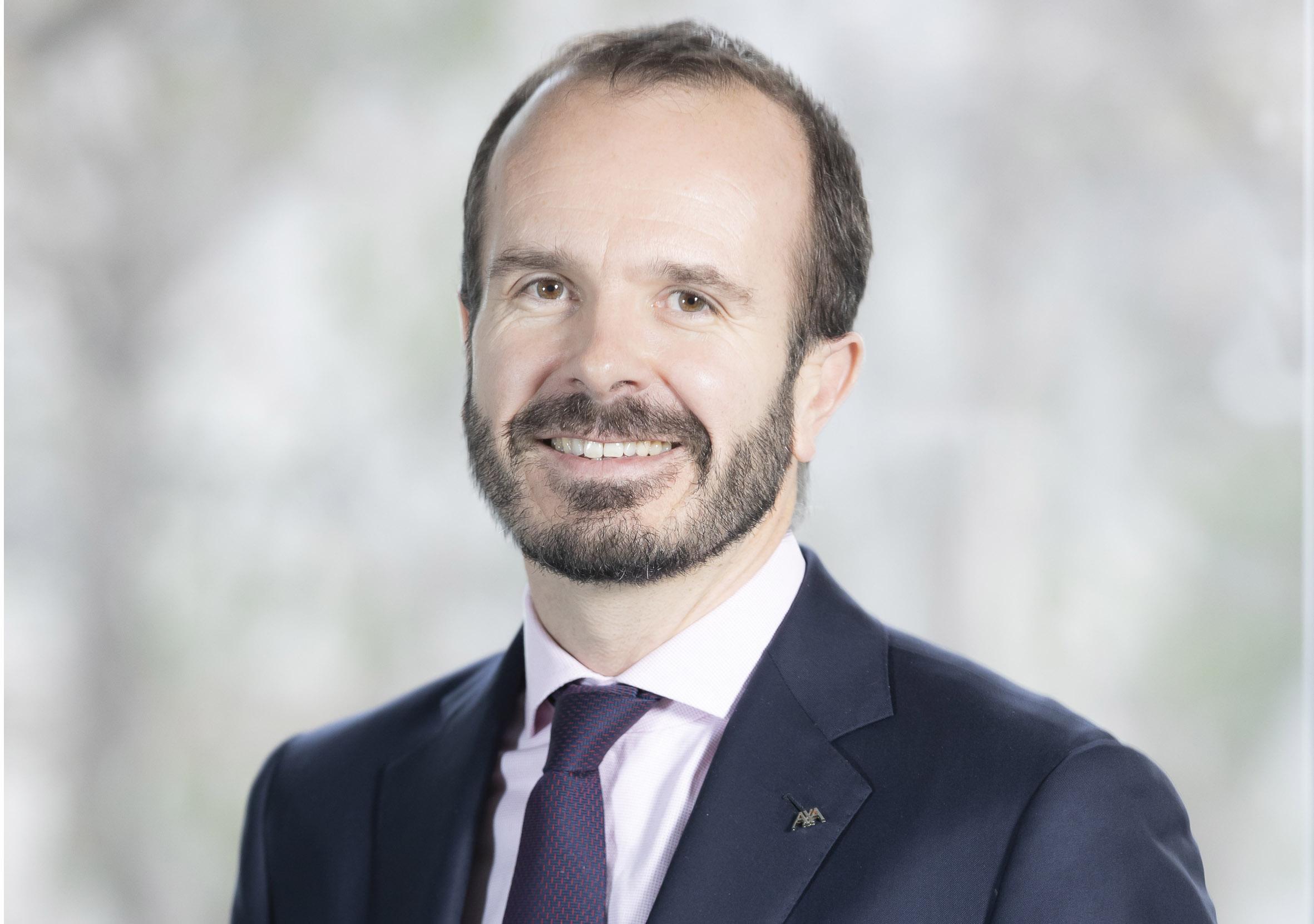 Benoît Claveranne, directeur de Axa International et nouveaux marchés