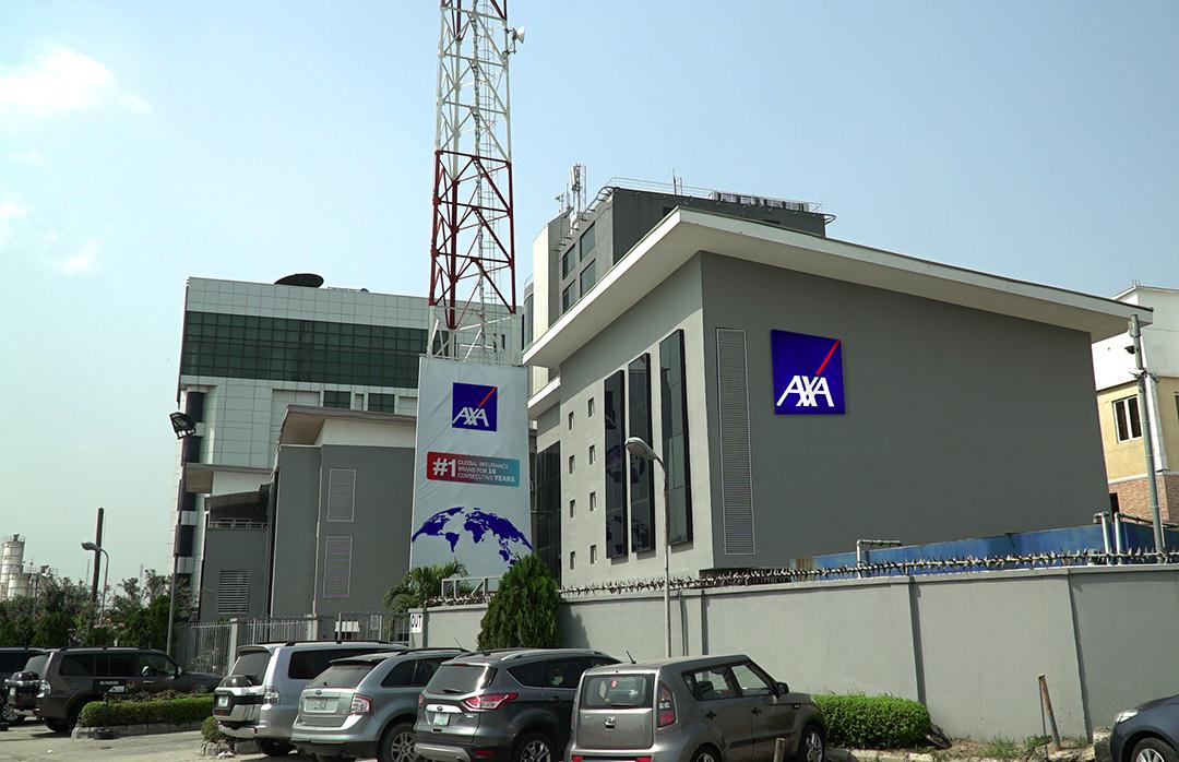 Bureaux d'AXA Mansard à Lagos.