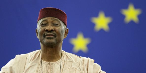 Amadou Toumani Touré, ici en 2010 au Parlement européen, est décédé le 10 novembre 2020.