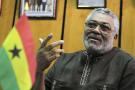 Jerry Rawlings, ici en 2011 à Nairobi, est décédé le 12 novembre 2020 à Accra.