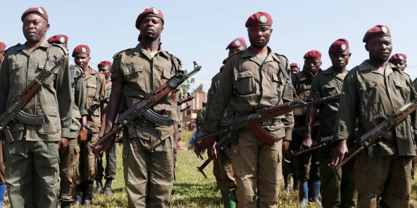 Des soldats des FARDC, à Béni, dans l'est du pays, en décembre 2018 (illustration).