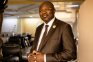 Homme d'affaires prospère, Eddie Komboïgo, 54 ans, a été investi par le CDP le 26 juillet dernier.
