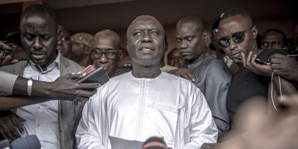 Déclaration à la presse d'Idrissa Seck après la proclamation des résultats de la présidentielle de février 2019.