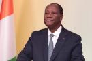 Alassane Ouattara, au palais de la présidence, le 31 octobre 2020.