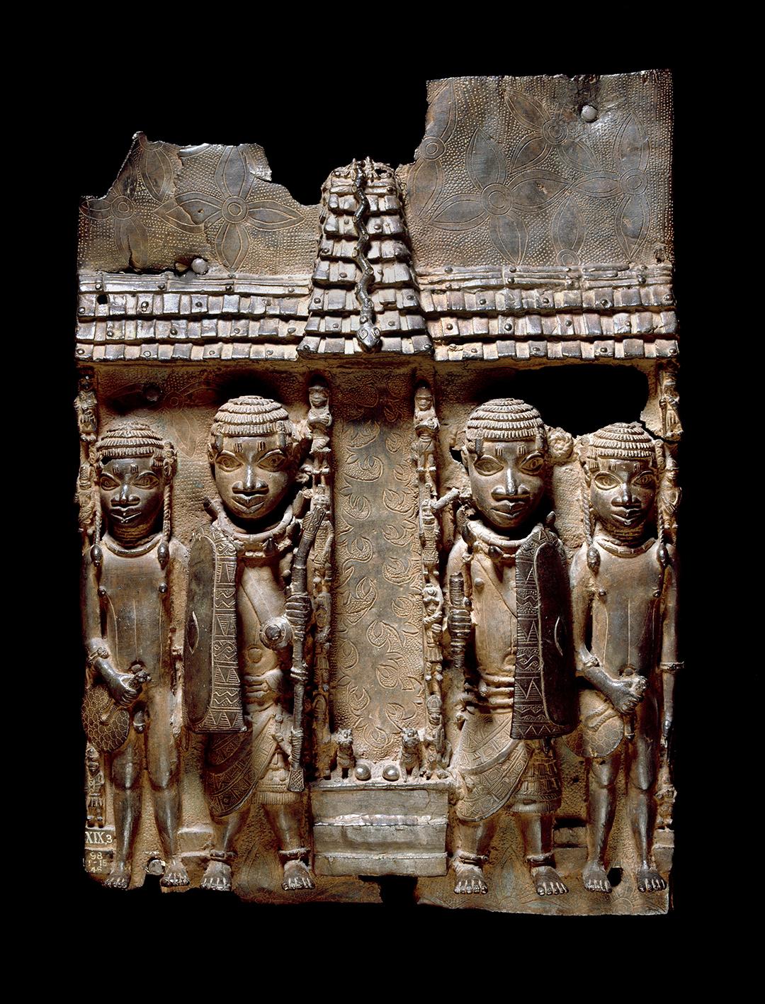 Le British Museum détient encore à ce jour quelque 900 objets issus de ces pillages (ici, une plaque datant du XVI ou XVIIe siècle)
