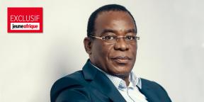 Le président du FPI, Pascal Affi N'Guessan, chez lui à Abidjan le 13 septembre 2019.