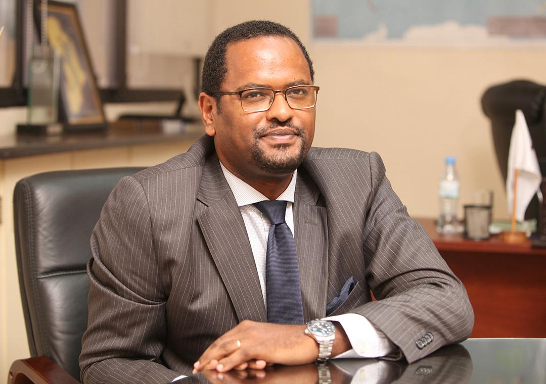 L'ambassadeur d'Éthiopie en France, Henok Teferra.