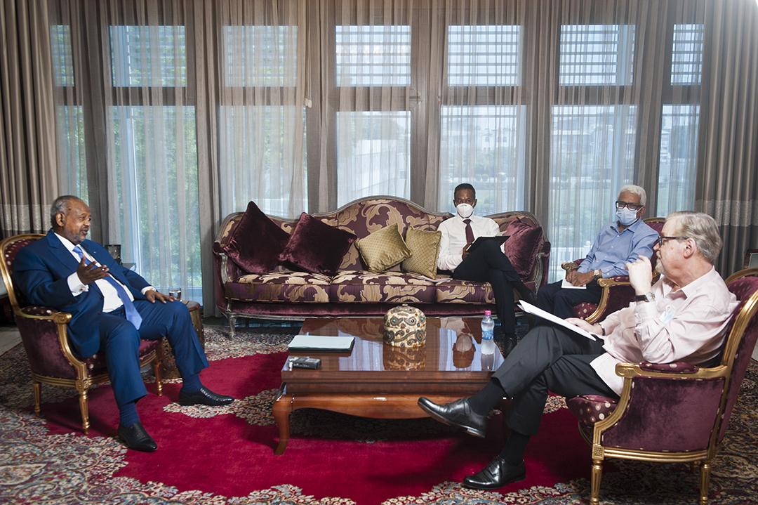 Ismaïl Omar Guelleh, le président de la République de Djibouti, a reçu longuement «Jeune Afrique» les 18 et 19 octobre 2020 au Palais présidentiel.