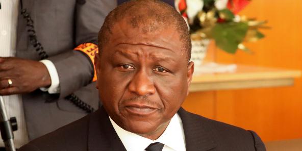 Hamed Bakayoko, en janvier 2020 à Abidjan.