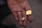 Mineur d'or à Kidal, au nord du Mali