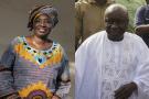 Aminata Touré et Idrissa Seck, l'ancienne présidente du CESE et son successeur.