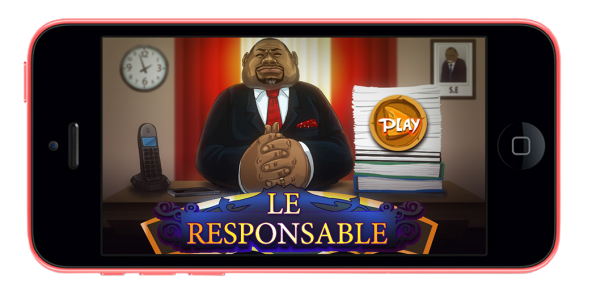 Le jeu vidéo « Le Responsable Mboa »