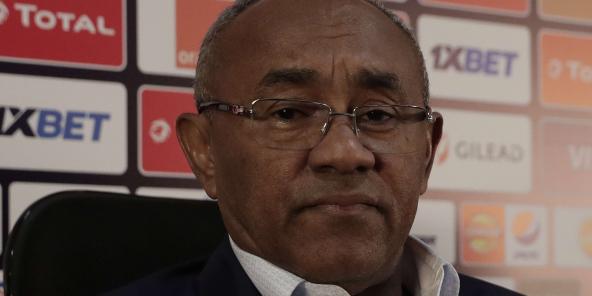 Ahmad Ahmad, ici en Égypte en juin 2019, a été suspendu de son poste de président de la Confédération africaine de football le 23 novembre 2020 par la Fifa.