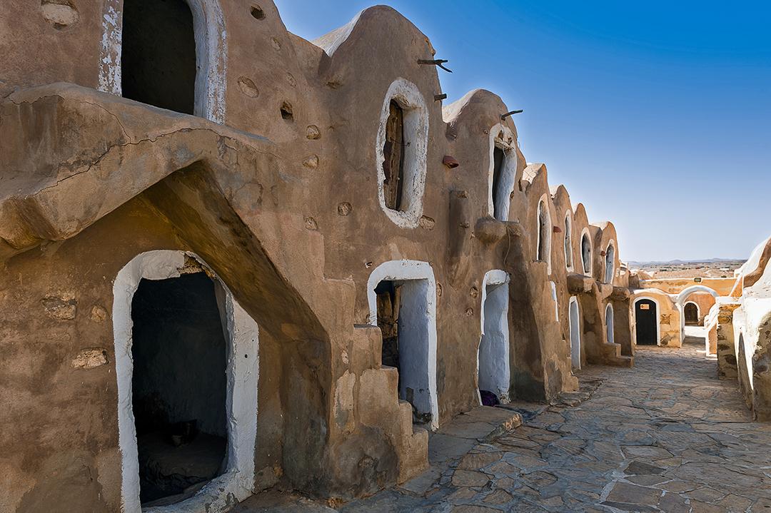 Le village de Ksar Hadada, où Georges Lucas a tourné